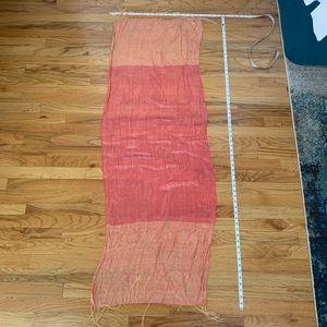 Pretty, girly, silk scarf/wrap